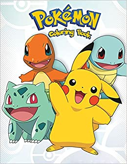 pokemon coloring book for kidstoddlers and anyone who loves pokemons
