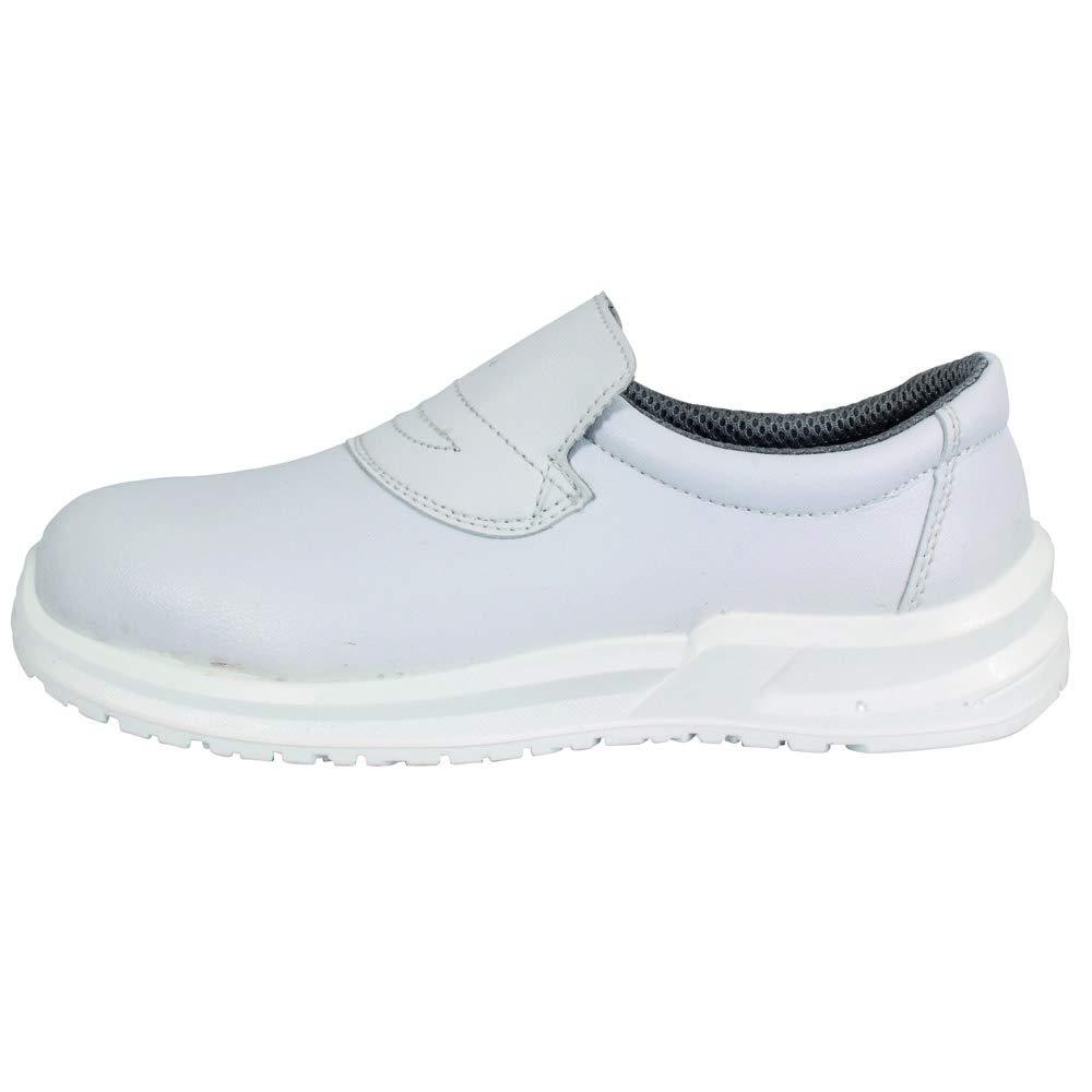 S2 SRC White Blackrock SRC04 Hygiene Slip-on Shoe