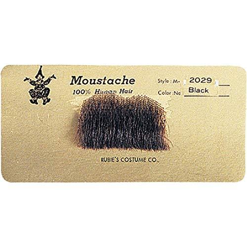 Rubie's Chaplin Moustache, Black, One Size ()