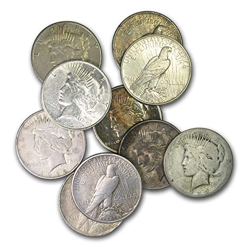 1878-1935 Morgan or Peace Silver Dollar Culls $1 About Good