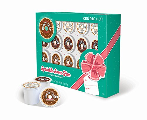 The Original Donut Shop Keurig Single-Serve K-Cup Pod Holiday Coffee Gift Box (Pack of 12) by The Original Donut Shop