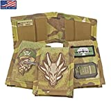 USTS Tactical Slim Patch Wallet - Made In USA - Multicam