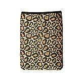OP/TECH USA 4643841 Smart Sleeve 841, Neoprene Sleeve for Netbooks (8.4 x 11.5), Leopard