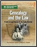 img - for Genealogy and the Law: A Guide to Legal Sources for the Family Historian book / textbook / text book