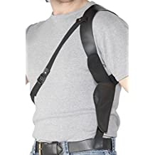 Smiffy's Men's Leather Look Shoulder Holster