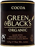 Green and Black's Organic Cocoa 125 g (Pack of 6)