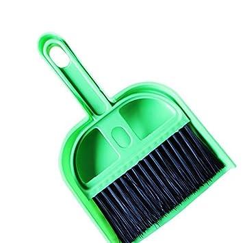 EQLEF® Juego de Cepillo y Cepillo de Mano Mini Cepillo de Limpieza con Teclado para ...