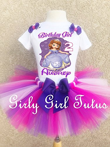 Sofia the 1st Princess Personalized Birthday Outfit Set ()