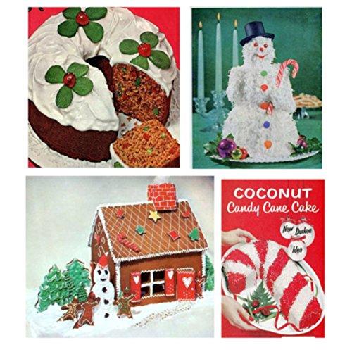 Retro Recipes Christmas Cakes and Gingerbread Houses