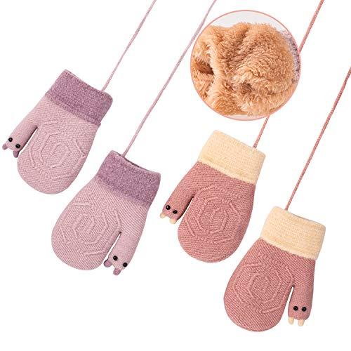 6856f44c70f0 Whaline Children Warm Magic Gloves 2 Pack Kids Gloves Mittens for 1 ...