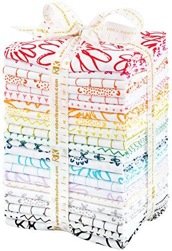 Karen Lewis Blueberry Park Low Volume 22 Fat Quarters Robert Kaufman Fabrics FQ-1184-22 by Robert Kaufman Fabrics