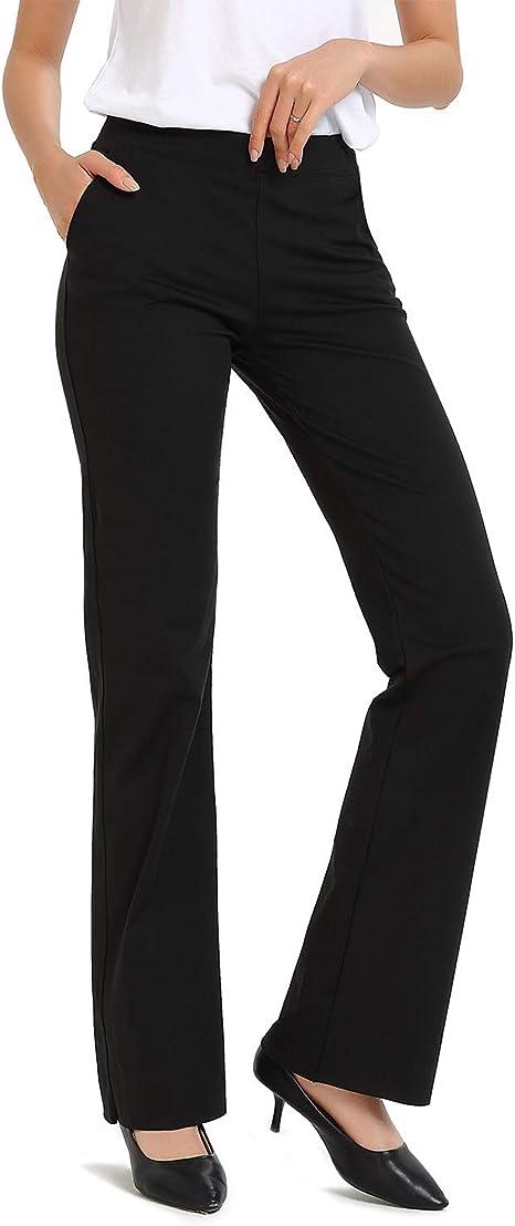 Amazon.com: Safort - Pantalones de yoga con entrepierna alta ...
