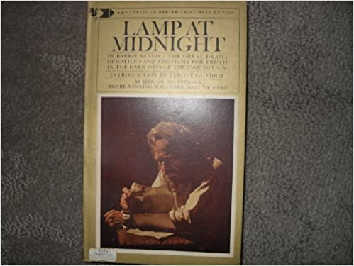 lamp at midnight