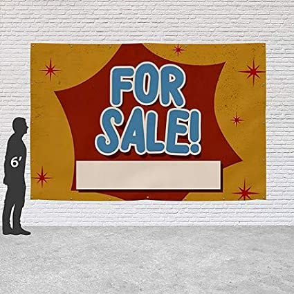 Sale 8x4 CGSignLab Chalk Burst Heavy-Duty Outdoor Vinyl Banner