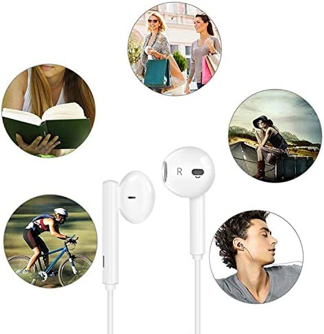 USB C Headphone HiFi Stereo in Ear USB C Earbuds Type C Headphones with Microphone Bass Earbud with Volume Control Compatible with Google Pixel 3XL,OnePlus 7 Pro,XiaoMi,Huawei P30 Pro,iPad Pro,Sony 51s4b4AhxEL