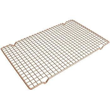 Amazon Com Mylifeunit Carbon Steel Baking Rack Nonstick