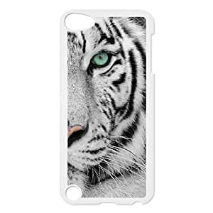 Custom Colorful Case for Ipod Touch 5, Tiger Cover Case - HL-R647018