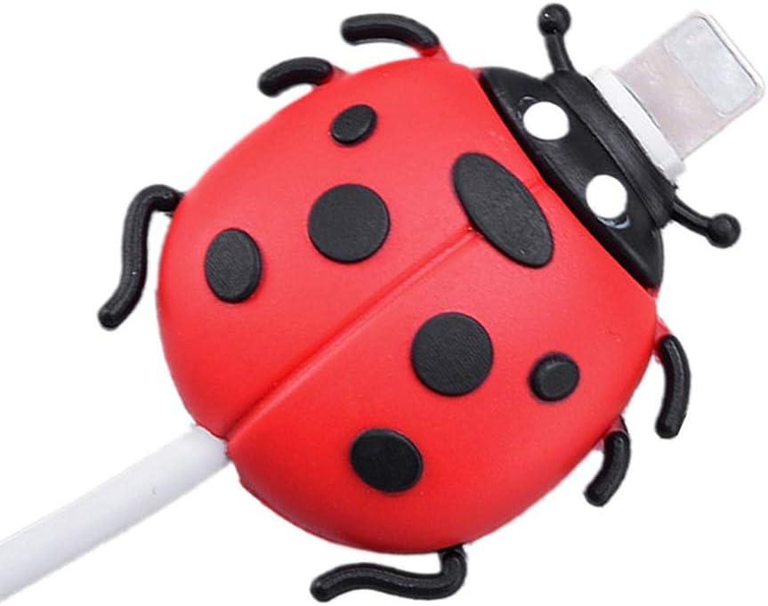 Ladeleitung Sch/ützt Vor Biege-Pause Yanhonin Insektenform USB-Ladekabel Schutzh/ülle