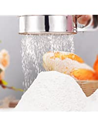 Buy 1PC Stainless Steel Mechanical Baking Icing Flour Sugar Sifter Shaker Sieve Tool offer