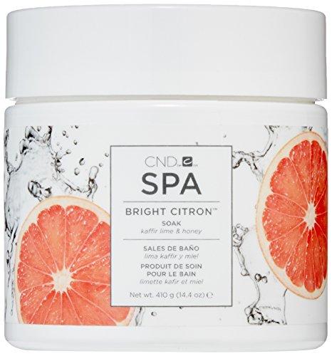 Cnd Spa - CND Spa Bright Citron Soak, 14.4 oz.