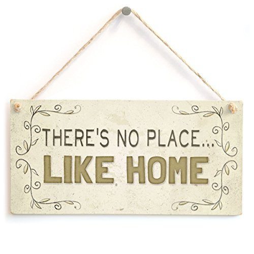 Meijiafei There's No Place…Like Home - Beautiful Welcome Home Accessory Gift Sign 10