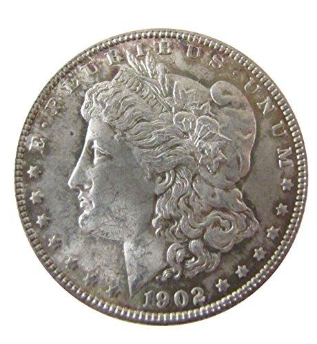 (1902 Morgan Silver Dollar $1 Uncirculated)
