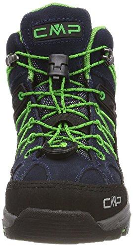 Adulte B gecko Randonnée Chaussures blue Mid WP Bleu Hautes Rigel Campagnolo Mixte de CMP WHzqwa4On