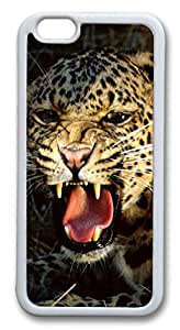 iphone 6 4.7inch Case iphone 6 4.7inch CasesLeopard 02 TPU Rubber Soft Case Back Cover for iphone 6 4.7inch White