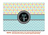 decalrus - Protective decal for the Asus TUF Gaming Laptop FX504 (15.6'' Screen) laptop with customized monogram AStuf15_Fx504-Monogram21