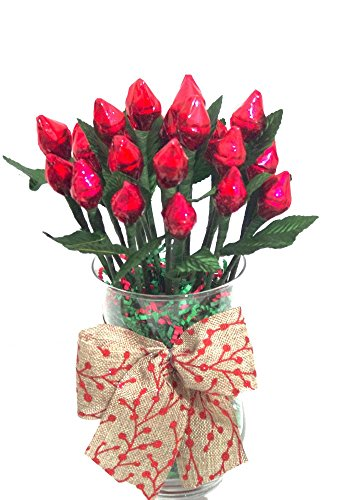 Hershey\#039s Kisses Rose Bouquet