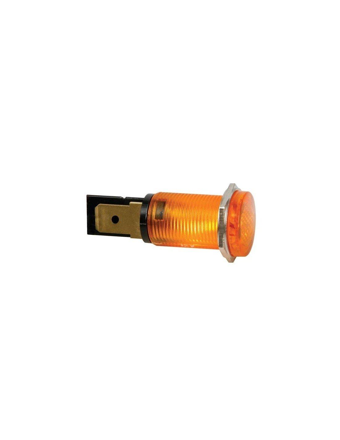 HRJC012A Runde LED-Signalleuchte PEREL 12V 142983 14 mm
