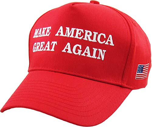 Make America Great Again - Donald Trump 2016 Campaign Cap Hat (002) Red Big Brother Embroidered T-shirt