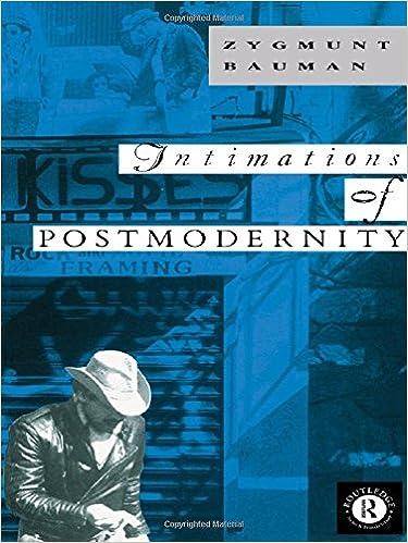 Intimations of postmodernity zygmunt bauman 9780415067508 intimations of postmodernity zygmunt bauman 9780415067508 amazon books fandeluxe Gallery