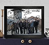 walking dead pictures - The Walking Dead Signed Autographed Photo 8X10 Reprint Rp Pp - Norman Reedus [Daryl Dixon], Andrew Lincoln [Rick Grimes], Steven Yeun [Glenn Rhee], Danai Gurira [Michonne], Melissa Mcbride [Carol Pel