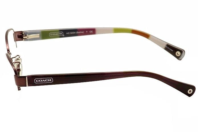 0bdd34ba99af Amazon.com: Coach Bettie Eyeglasses HC5004 9032 Purple Demo Lens 53 16 135:  Shoes