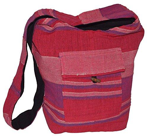 Damentaschen , Borsa Messenger  Uomo rosa Rosa
