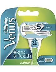 Gillette Venus Embrace Women's Razor Blade Refills, 4 Count, Womens Razors / Blades