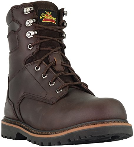 Brown 4279 9 Toe Men's V Thorogood Boot 5 804 M Safety Series Work 8