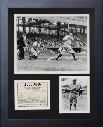 "Legends Never Die ""Babe Ruth at Bat Framed Photo Collage, for sale  Delivered anywhere in USA"