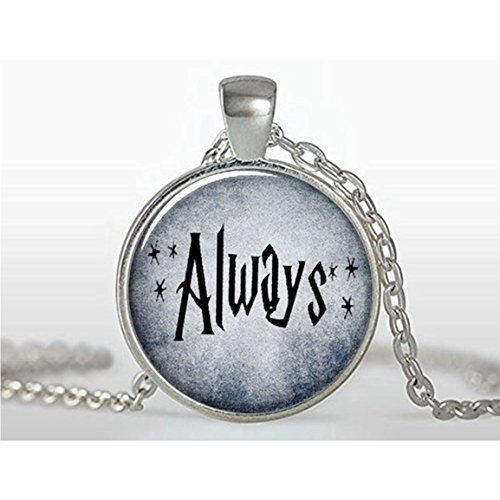 Always Pendant, Harry Potter Jewelry, Harry Potter Quote, Valentines Gift, Anniversary Gift, Love