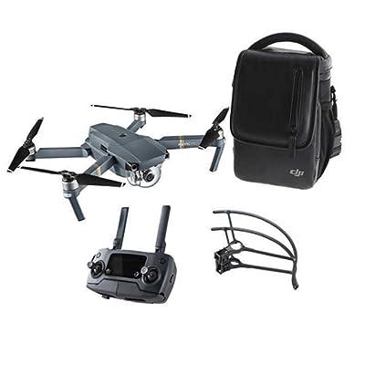 DJI Mavic Pro Aerial 4K Camera Drone Bundle w/ Shoulder Bag & Prop Guard (Renewed): Camera & Photo