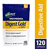 Enzymedica - Digest Gold with ATPro, High Potency Enzymes for Optimal Digestive Support, EcoPack, 120 Capsules