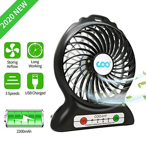 Portable USB Fan Battery