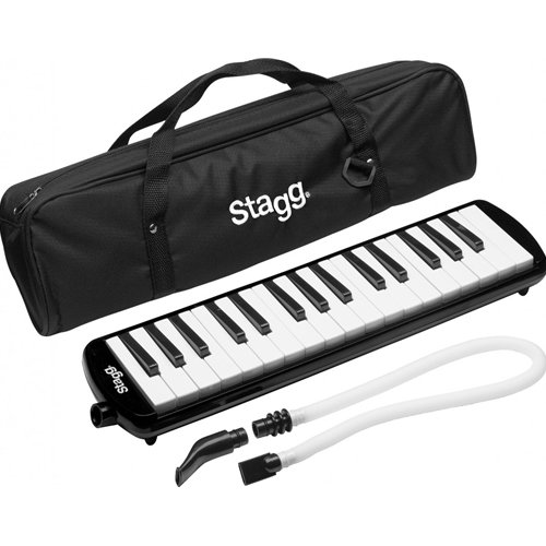 Stagg MELOSTA32BK 32 Note Melodica with Case - Black