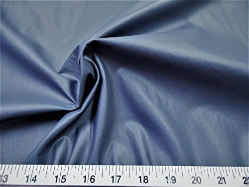 (Paylessfabric Fabric Faux Leather Upholstery Pleather Vinyl Slate Blue PL20)