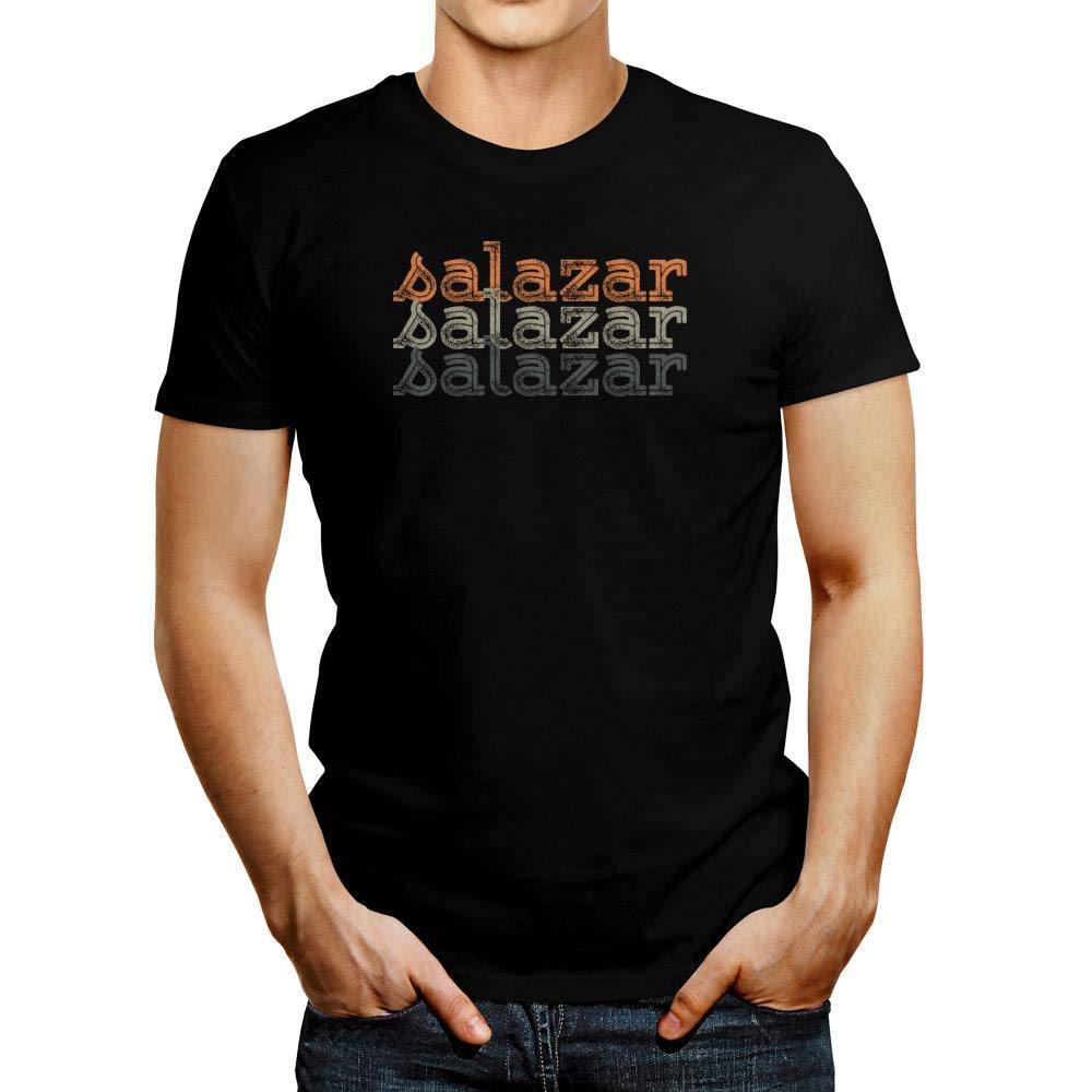 Idakoos Salazar Repeat Retro T-Shirt