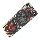 hot topic disney tanks - Actual Anime Tattoo Arm Sleeve Men and Women Protection Breathable Outdoor Basketball Sports Wrist Sunscreen Keep Warm Fishing Gloves