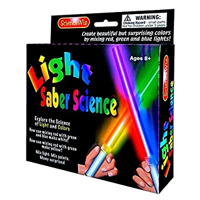 Science Wiz Light Saber Science: Toys & Games