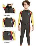 DIVE & SAIL Boys 2.5mm Diving Suit Warm Long Sleeve