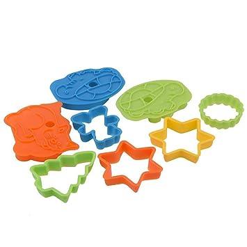 Minions Boutique Moldes cortadores de galletas, marco de plástico, molde para tartas, galletas